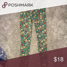 Woodland creatures leggings Cute and comfortable leggings that stretch to size. Worn once and so soft it makes you want to take a nap! LuLaRoe Pants Leggings