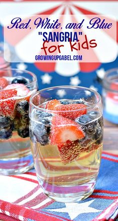 Don't forget the kids when celebrating this summer! This easy kids drink recipe is perfect for summer parties.
