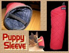 Synthetic Material Puppy Sleeve