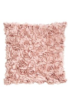 Chiffon flower cushion cover - Light pink - Home All | H&M GB