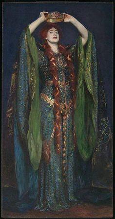 John Singer Sargent Ellen Terry as Lady Macbeth 1889