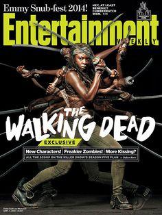 Michonne (Danai Gurira) - The Walking Dead  - season 5 promo photo - published 2014 #TheWalkingDead #Michonne