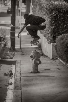 There was a time when I was able to Ollie over a fire hydrant
