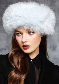 SURELL Fox Fur Scarf/Head Wrap