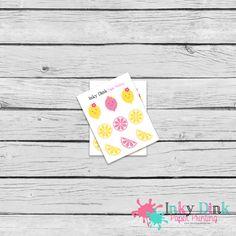 New to InkyDinkPrinting on Etsy: 9 Lemonade Pink & Yellow Sample Sheet Planner Stickers Erin Condren Happy Planner Plum Planner Sticker Sampler EC Life Planner SP-01 (1.50 USD)