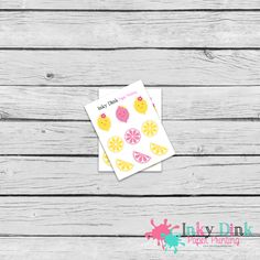 New to InkyDinkPrinting on Etsy: 9 Lemonade Pink & Yellow Sample Sheet Planner Stickers Erin Condren Happy Planner Plum Planner Sticker Sampler EC Life Planner SP-01 (1.50 USD)