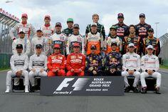 Formel 1 Fahrer 2014 - Formel 1 - GP Australien - 16. März 2014