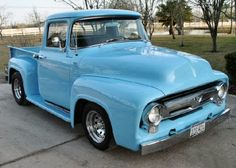 1955 Ford truck - what I want to buy for @Chelsea Rohde someday.