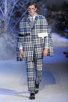 Moncler Gamme Bleu Fall 2013 Menswear Collection Slideshow on Style.com