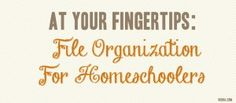 Dont let homeschool record keeping intimidate you! Click here for an easy organization system for your homeschooling needs.