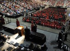 Jackson High School commencement Thursday, May 22, 2014 at the Show Me Center.