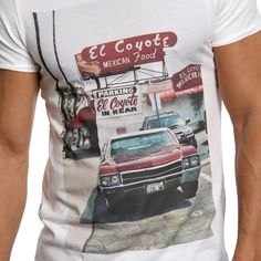 Dead Legacy El Coyote T-Shirt - White - Dead Legacy T-shirts at Reem Clothing UK