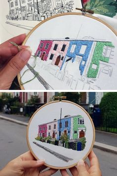 Hand embroidery patterns by Le Kadre