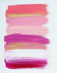 Shades of #pink #brushstrokes