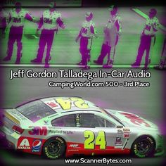 3rd place at Talladega and on to the final round of 8 of the Chase! Go Jeff Go!  #nascar #jeffgordon #talladega