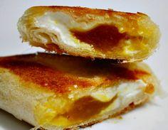 Briks de queso y mermelada mango málaga (mango_mmm...). Al punto Benamejí, Benamejí. Córdoba