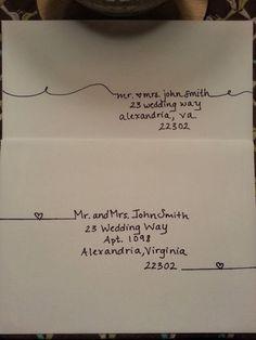 Envelope Art, Envelope Design, Paper Crafts, Diy Crafts, Addressing Envelopes, Addressing Letters, Mail Art, Found Out, Hand Lettering