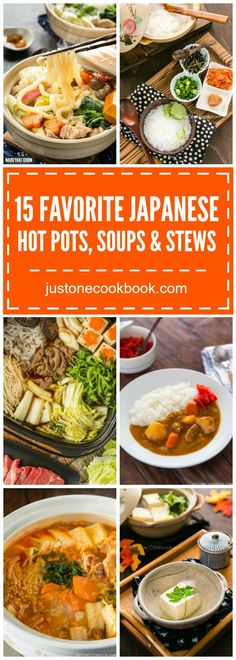10 Favorite Japanese Hot Pots, Soups & Stews | Easy Japanese Recipes at http://JustOneCookbook.com