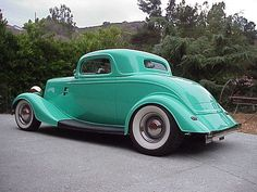 1934 Ford 3 Window Coupe - My mother owned a car like this when I was a teenager. It was a going little hot rod!