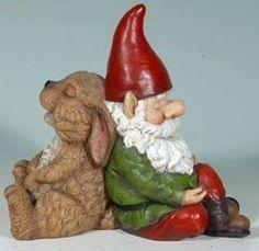 Amazon.com: Snoozing Gnome + Bunny Friends Garden Statue: Patio, Lawn & Garden U$17