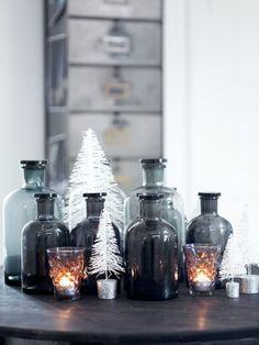 #dekoras #aksesuarai #detales #zvake #zvakide #stiklas #stikliniaibuteliai #stikliniaiindai #eglute #interjeras #interjeropatarimai