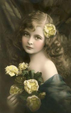 Lovely vintage girl...