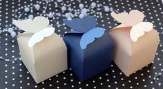 Party Favor Boxes Set of 12 Butterfly Party Favour by AniArts
