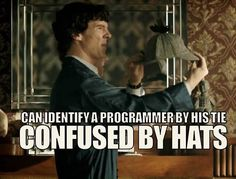 I have this theory that when there's no case, Sherlock either doesn't speak or goes on like a Tumblr nightblogger.