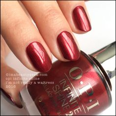 OPI Infinite Shine I'm Not Really A Waitress