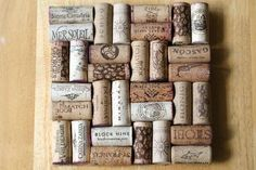 DIY Network's Made+Remade shows you how to up-cycle wine bottle corks into a trivet for your kitchen.