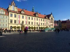 Down town Wroclaw...