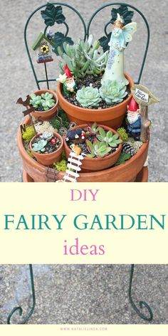 Learn how to make your very own fairy garden! DIY fairy gardens are the perfect way to spruce up your yard and sharpen your gardening skills! Beautiful Fairies, Beautiful Gardens, Beautiful Flowers, Garden Crafts, Garden Ideas, Indoor Garden, Outdoor Gardens, All About Plants, Succulent Care