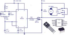 DC Motor Control Circuit Diagram | Electrical Engineering Blog