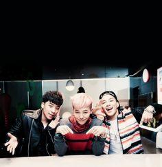 BIGBANG - Seungri, GDragon and Taeyang