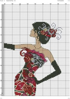 Zz Mermaid Cross Stitch, Cross Stitch Angels, Cross Stitch Flowers, Counted Cross Stitch Patterns, Cross Stitch Charts, Cross Stitch Designs, Christmas Embroidery Patterns, Le Point, Plastic Canvas Patterns