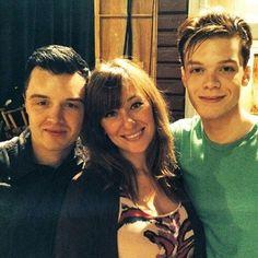 Mickey, Svetlana, and Ian