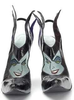 Sapatos vilãs da Disney