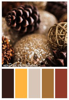 Gold On The Ceiling: Neutral Christmas