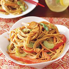 Easy Chinese New Year recipes   Cold Sesame Noodles with Golden Garlic   AllYou.com