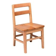 "Picture of 18"" Wood Chair"