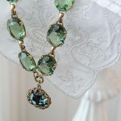 La Vie Parisienne Sea Green Necklace