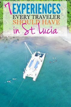St. Lucia | 7 Experiences Every Traveler Should Have in St. Lucia. Come Seek this versatile Royal Caribbean destination, which triples as a tranquil beach oasis, lush botanical waterfall spot, and volcano-exploring adventure zone.