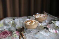 Eleanor Ozich of Petite Kitchen shares her recipe a delicious banana almond butter mousse