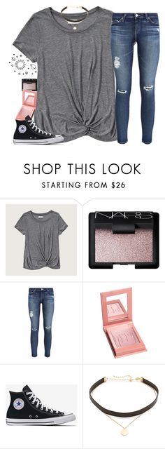 """""""Do you still love me the same"""" by southernstruttin ❤ liked on Polyvore featuring Abercrombie & Fitch, NARS Cosmetics, AG Adriano Goldschmied and Jennifer Zeuner"""