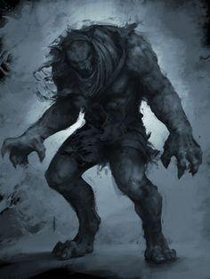 Werewolf by Denstarsk8.deviantart.com on @deviantART