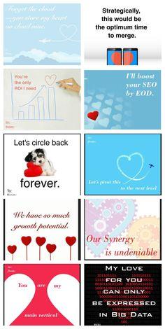 Marketing Buzzwords for the Nerdy Valentine