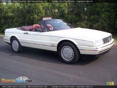 1989 white pearl Cadillac Allante