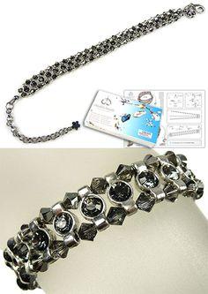 #DoubleBeads #Jewelry #DIY