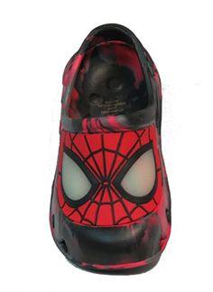 Toddler Boys Shoes ULTIMATE SPIDERMAN Black Red LIGHT UP Web Design 7 8 9 10