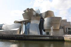 The Guggenheim Museum, symbol of modern Bilbao.